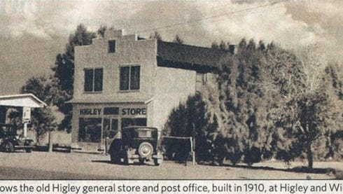 The Higley general store, circa 1930s.
