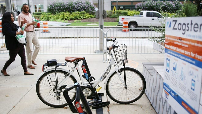 Planning is under way to create a public bike share system in Detroit in addition to the Zagster system already in place downtown for employees and affiliates of Dan Gilbert's companies.