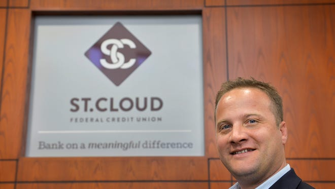 In this file photo Jed Meyer, CEO of St. Cloud Federal Credit Union, is photographed at the St. Cloud location.