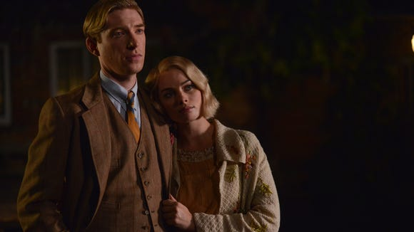 Domhnall Gleeson as the man behind Pooh Bear and Margot