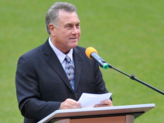 The Indians will honor broadcaster Tom Hamilton (pictured) and former slugger Jim Thome this coming weekend.