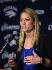 Amanda Levens comes to Nevada after five seasons as the associate head coach at Arizona State.