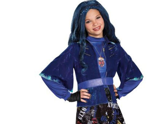 """The """"Descendants"""" Evie Deluxe Girls Costume is one of the most popular for kids."""