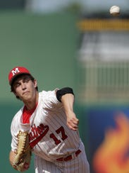 Marathon's Ryan Gassner had a 9-0 record and a .400