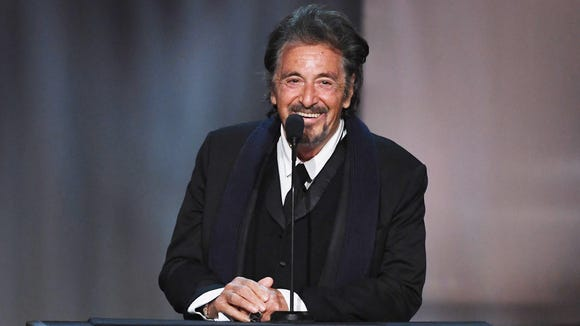 'Godfather' memories abounded when Pacino showed up.