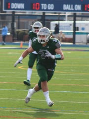 DePaul's Vinny DePalma finished his high school career with 456 tackles.
