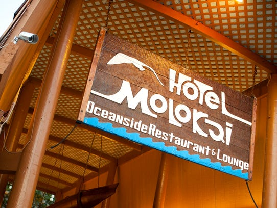 Hotel Molokai is the only hotel on the island, but