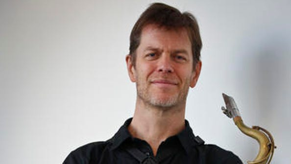 This Oct. 11, 2016 photo shows saxophonist Donny McCaslin
