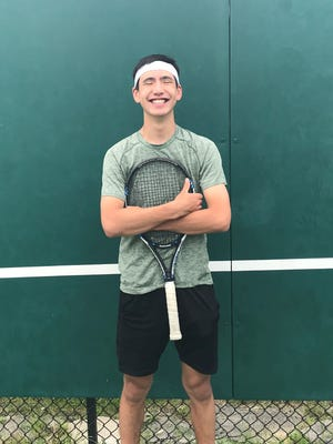 Dominican tennis player George Wong enters his fourth consecutive state tennis meet this weekend, looking to improve upon a fourth-place finish last year.