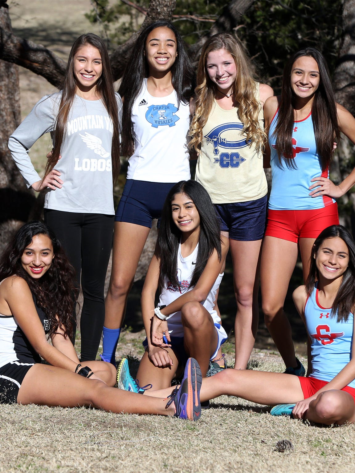The El Paso Times All City Cross Country team are from