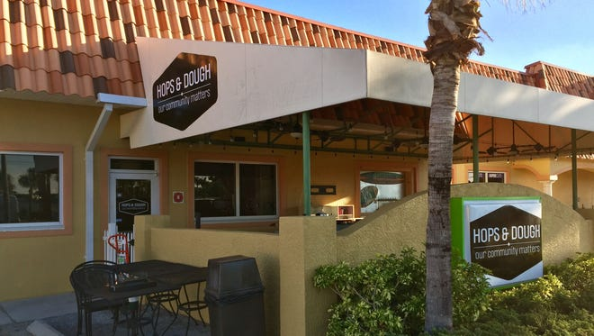 Hops & Dough was located on Eau Gallie Boulevard in Indian Harbour Beach.