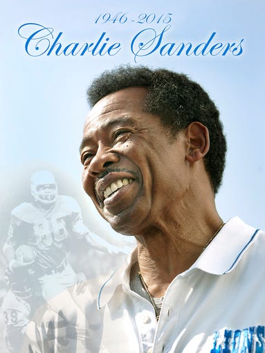 Charlie Sanders, considered the greatest tight end