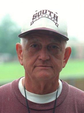 Toms River South head coach Ron Signorino in a 2000 photo.