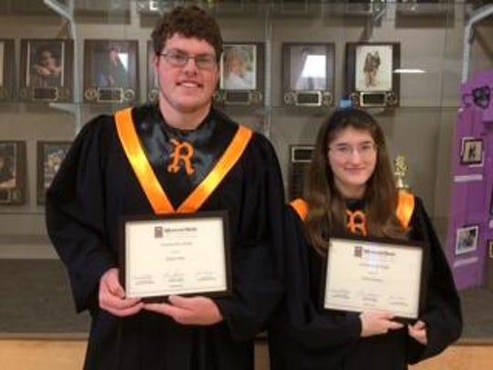 "Republic High School choir students recently won ""outstanding"