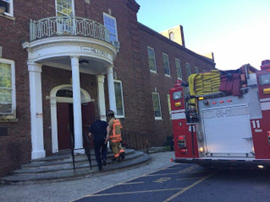 Firefighters responded to a small fire at Hillcrest House, located at 28 Snow Terrace in the Town of Poughkeepsie.