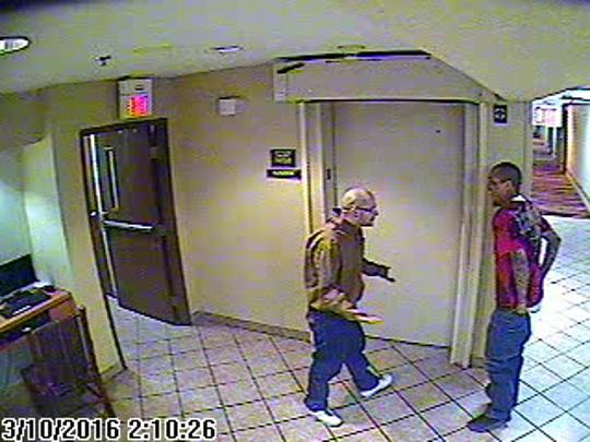 Joseph Cruz and Lionel Clah were spotted on surveillance