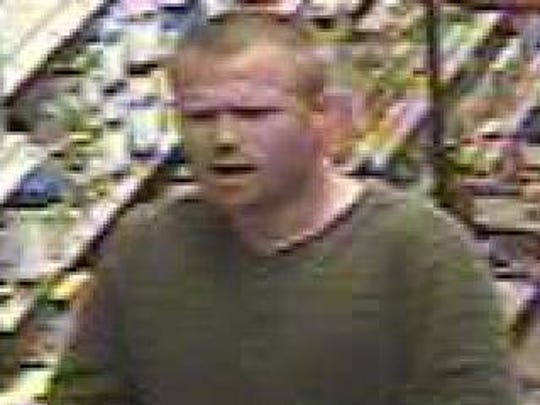 Police suspect this man of shoplifting repeatedly at Wegmans in Mount Laurel.