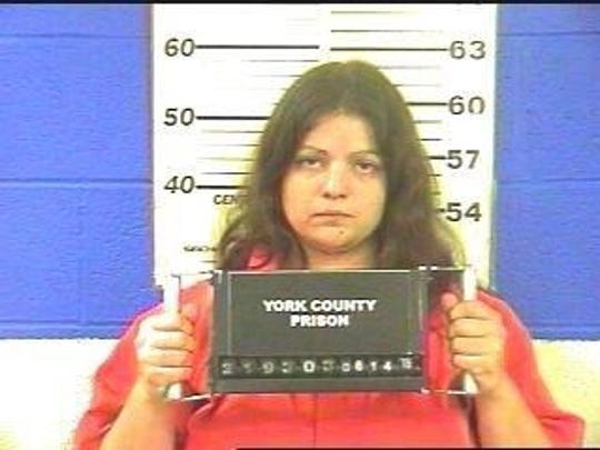 Regina Lester is in York County Prison without bail,