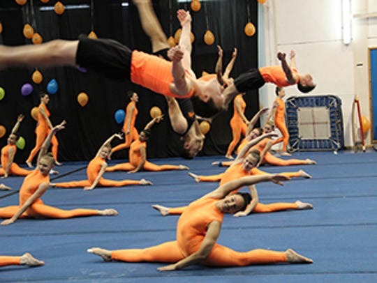 Israel Camp-USA brings its troupe of acrobats to the
