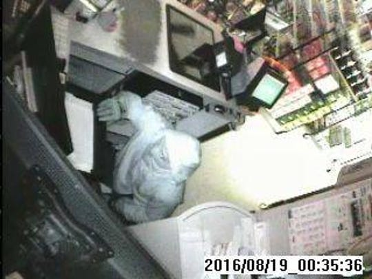 This man broke into the Chester Roadside Convenience