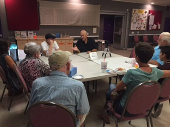 Mayor Stan Henry responds to questions from Cathedral City residents about upcoming ballot measures.