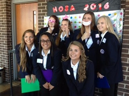 Students attending HOSA Conference.