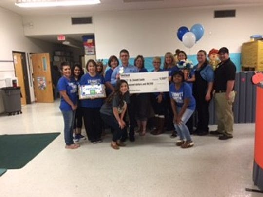 Emmitt Smith Preschool was awarded the donation on Oct. 28.