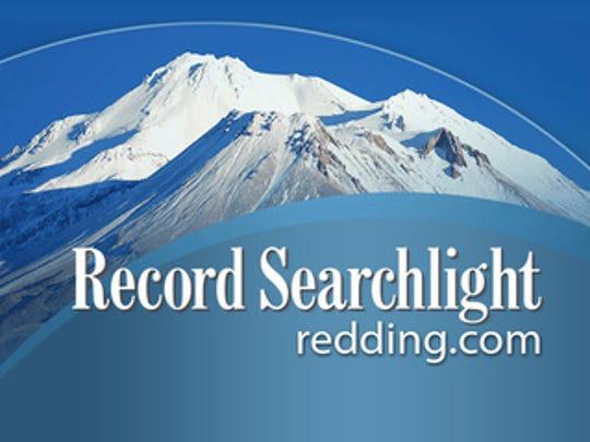 Record Searchlight logo