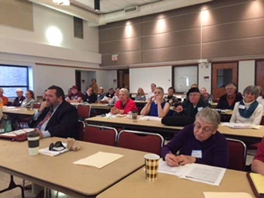 Members of the Kentucky Conservation Committee gathered at Bellarmine University on Saturday.