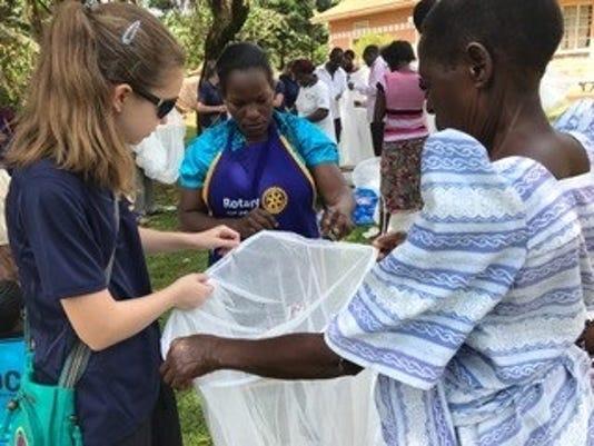 Uganda Rotary trip