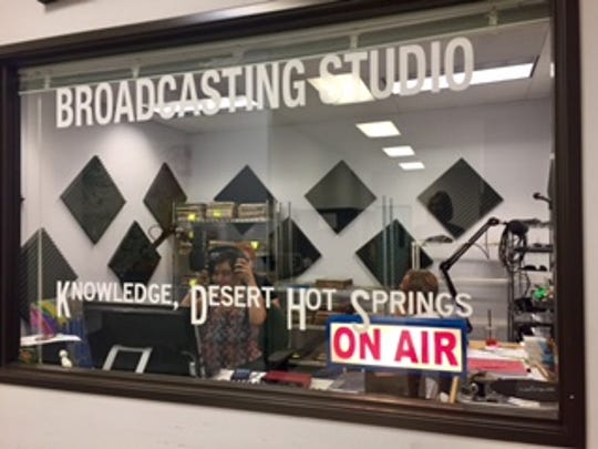 Students at Smooth Transition, Inc. learn about radio