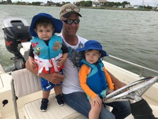 Kevin Farrell and grandsons