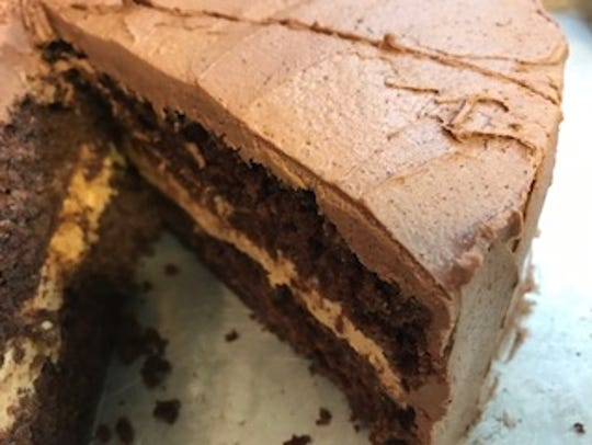 Satisfy your sweet tooth with a slice of chocolate