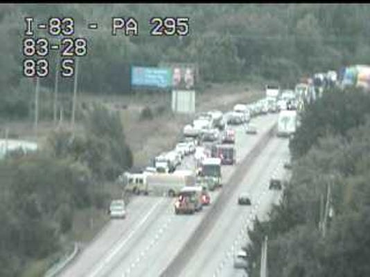 Crash I-83 North 7/25
