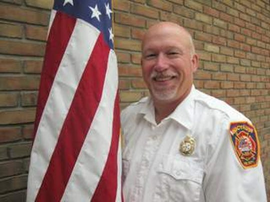 Bucyrus Fire Chief Jay Keller