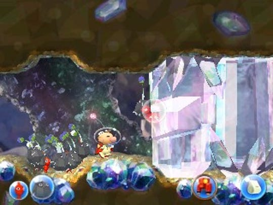 Hey! Pikmin for Nintendo 3DS.
