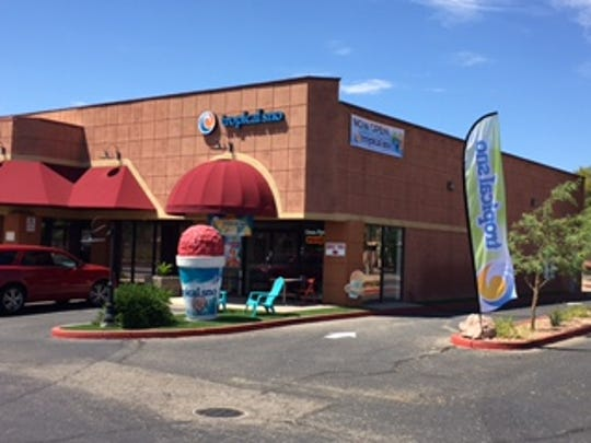 Tropical Sno's Glendale location sports a larger-than-life