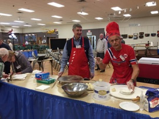 The local Sons of Norway chapter members held baking classes at Whitney Senior Center in October and offered samples.