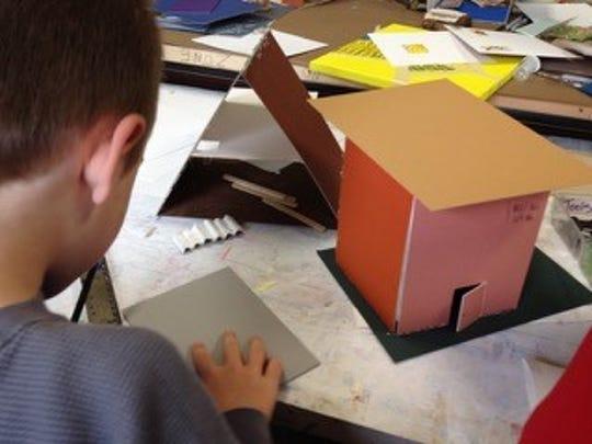 Winter Camp — Making Miniatures: Children can create