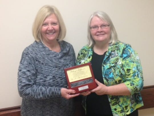 Robin Arnold, RN, Center Manager and Karen A. Rohaly