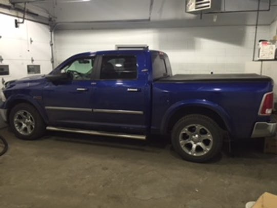 Burlington police say this Ram truck is connected to