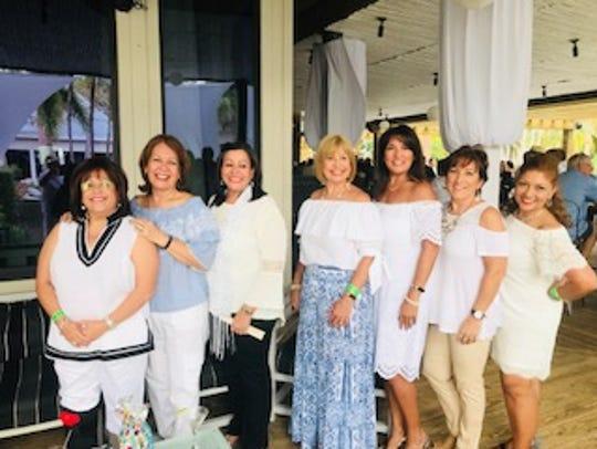 Sonia Padilla, left, Virginia Feliciano, Vicky Ramos,