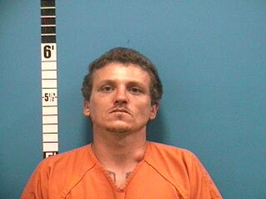 Eric Shipley was accused of beating and strangling his ex-girlfriend to the point where she passed out, officials said.