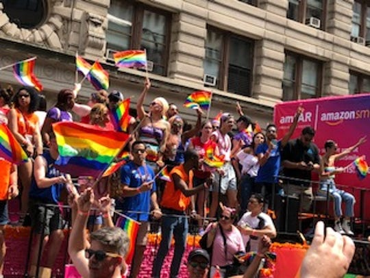Thousands attended the annual New York City Pride Parade
