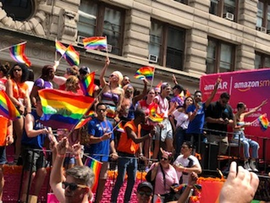 Thousands attended the annual New York City Pride Parade on June 24 led by Grand Marshal Billie Jean King.
