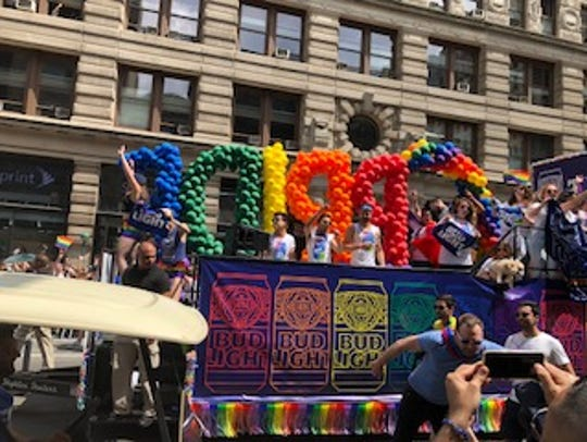 Thousands attended the 2018 New York City Pride Parade, but some activists say it's gotten too corporate.