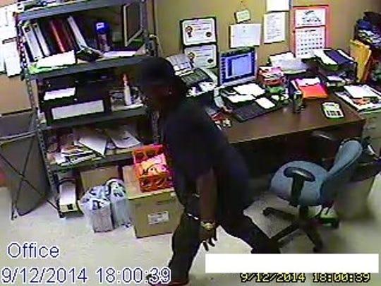 Mickey Mart office suspect in attempted burglary