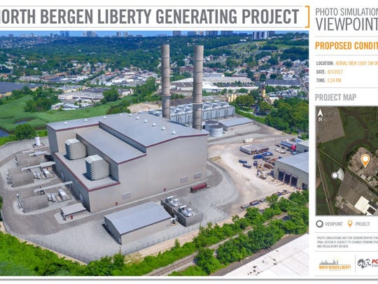 Artist rendering of the proposed North Bergen Liberty