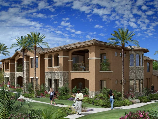 A rendering of a unit view at Vantage in Ahwatukee.