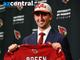 Arizona Cardinals top pick Josh Rosen is introduced at the team complex in Tempe on Friday, April, 27, 2018. #RiseUpRedSea #BirdGang #AZCardinals
